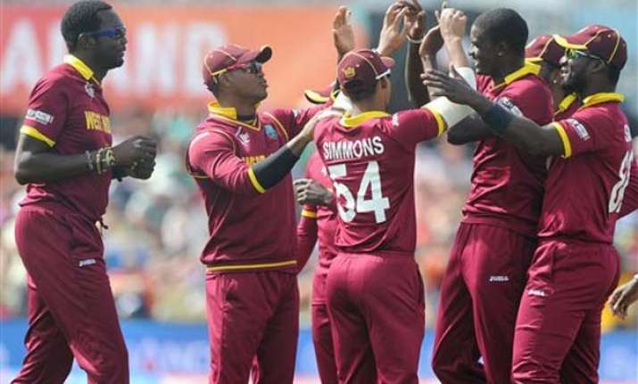 world cup 2015 west indies outclass pakistan by 150 runs