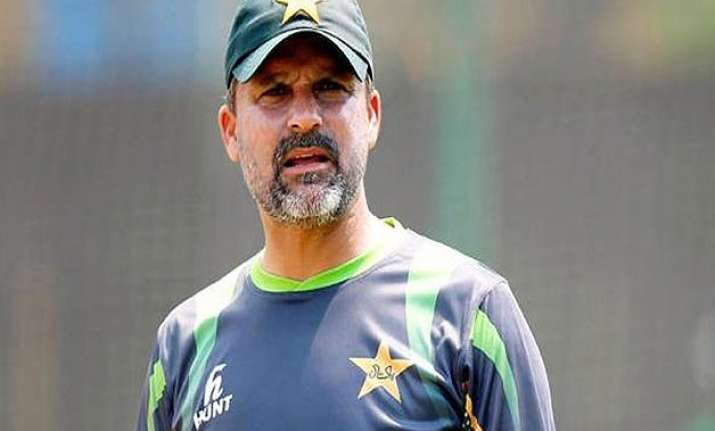 world cup 2015 pcb calls back chief selector moin khan over
