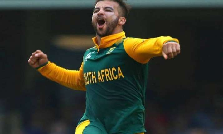 world cup 2015 duminy takes hat trick safrica bowls sri