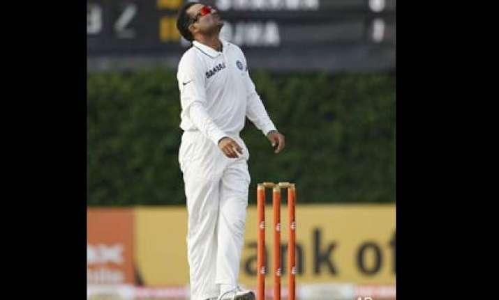 wickets of sangakkara and jayawardene is key sehwag