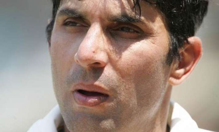 watch video misbah trolls england fielders with fake sweep