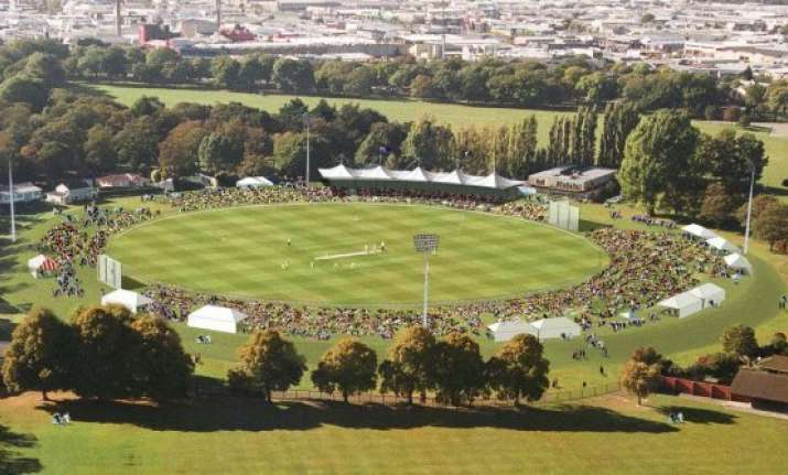 hagley oval approved for world cup opener