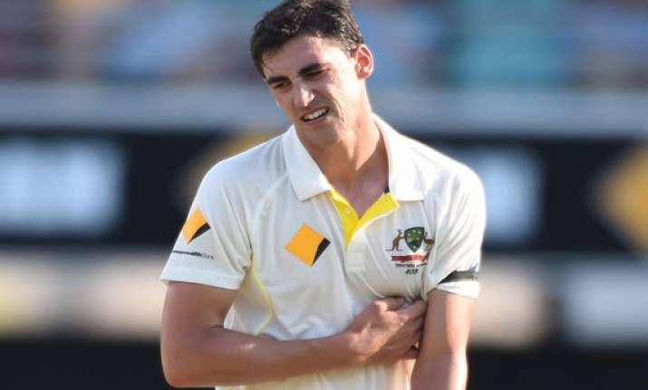 warne has been on my back for years mitchell starc