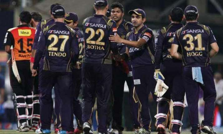 ipl 8 clinical kkr outplayed sunrisers hyderabad by 35 runs