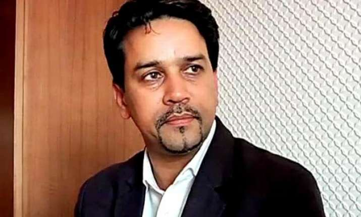bcci secretary anurag thakur spotted with alleged bookie
