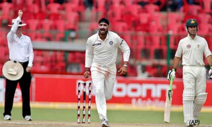 australia were short of ideas says bhajji
