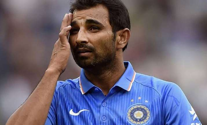 shami ruled out of asia cup looks doubtful for world t20