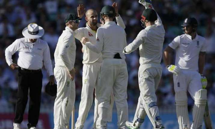 ashes 2015 australia reduces england to 107 8 on day 2 of