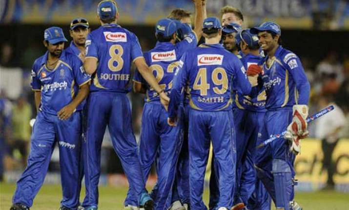 ipl 8 holders kkr take on former champs rajasthan royals in