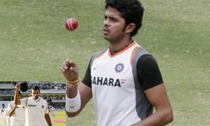sreesanth surprise pick zaheer returns for lanka test series