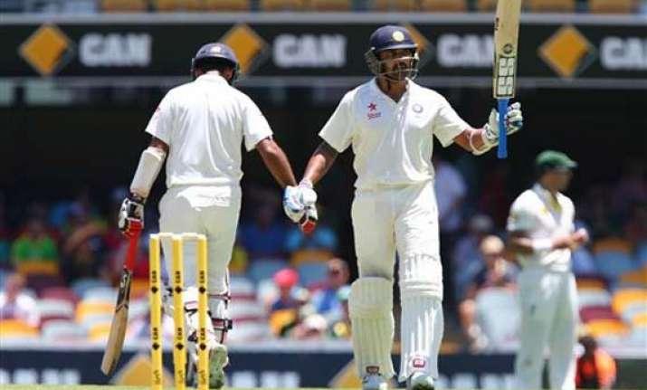aus vs ind vijay key in reply to australia s 530 third test