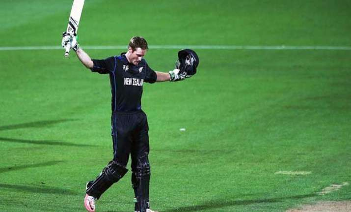 world cup 2015 new zealand edges to 3 wicket win over