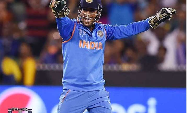 world cup 2015 winning run team effort says ms dhoni