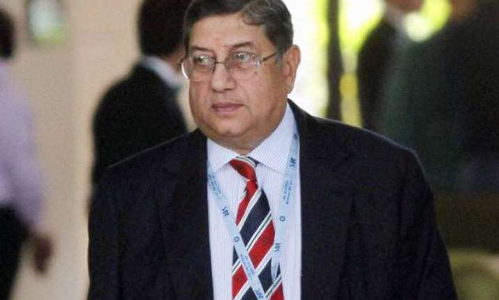 srinivasan committed contempt of court by attending bcci