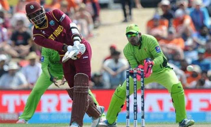 world cup 2015 pakistan vs west indies scoreboard match 10