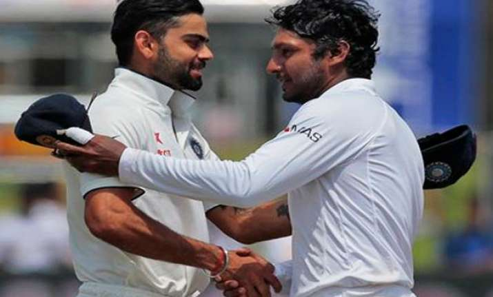 indian cricketers pay tributes to kumar sangakkara
