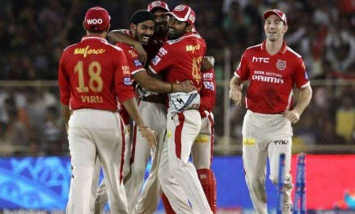iipl 8 punjab hyderabad eye relief to troubled campaign