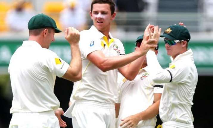 very proud to have taken five wickets in debut test