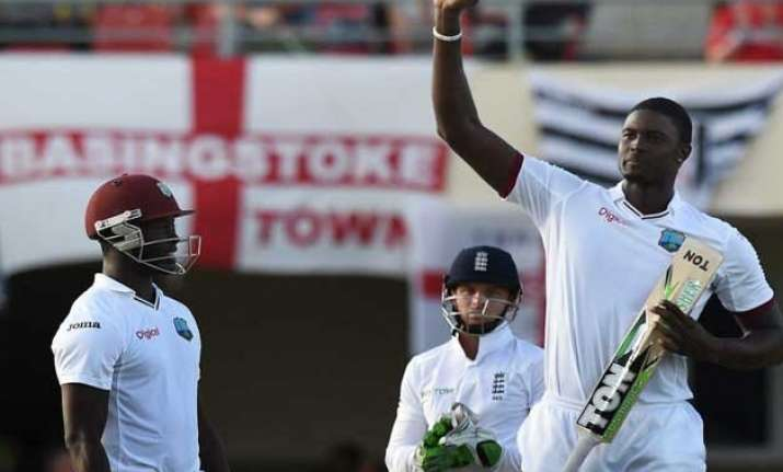 nelson mandela inspires west indies holder s maiden test