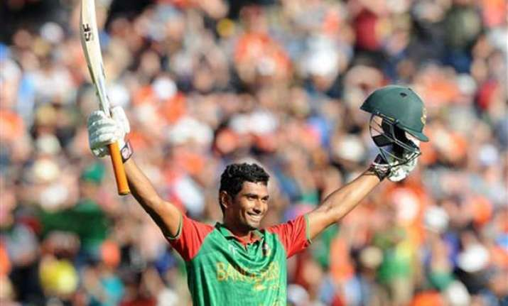 world cup 2015 ton up mahmudullah takes bangladesh to 288 7