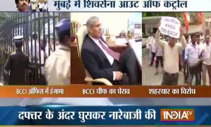 after shiv sena protest bcci pcb talks rescheduled for