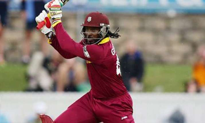 world cup 2015 australian crowd awed by chris gayle s