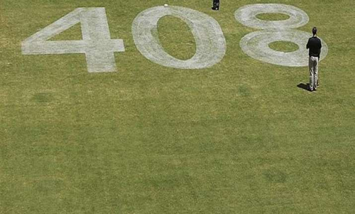australian team to wear hughes number 408 in first test