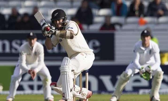 eng vs nz ronchi stars on test debut new zealand 297 8 vs