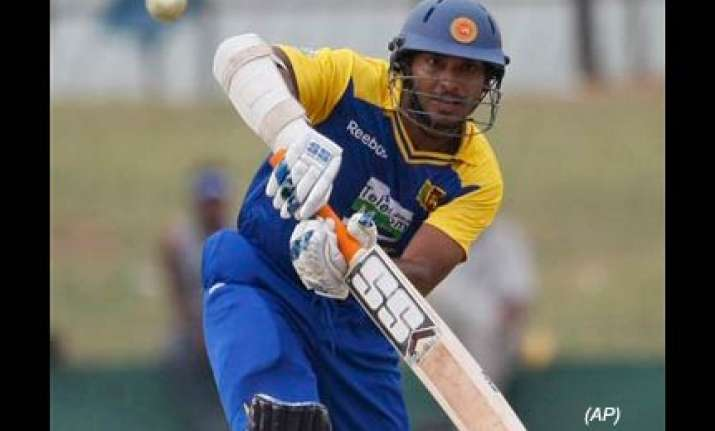 sangakkara charged with level 2 offence for colliding with