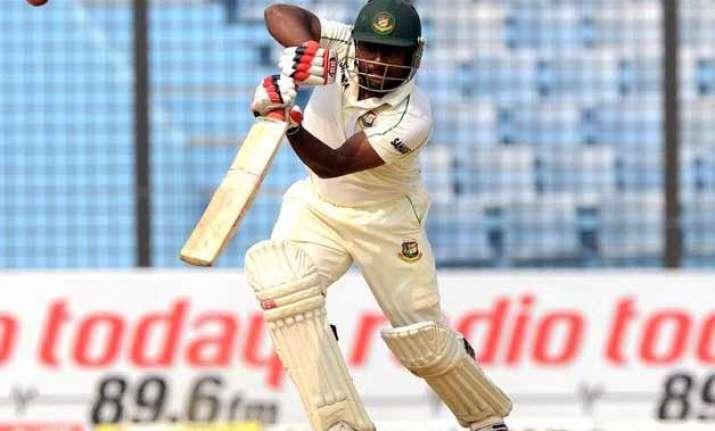 bangladesh 150 2 vs pakistan at tea on 1st day of 1st test