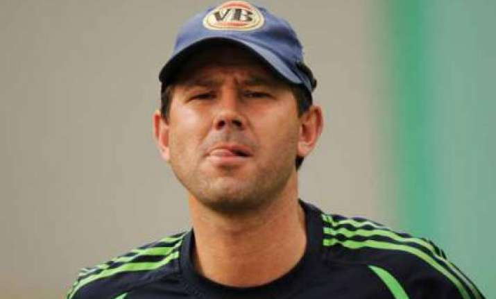ponting open to idea of sharing responsibilities with clarke
