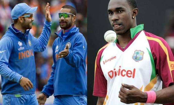dhawan wishes success to kohli bravo wants just opposite