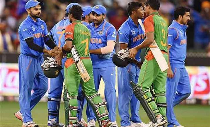 world cup 2015 india reaches semis with win over bangladesh