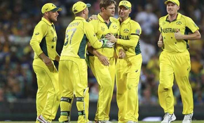 world cup 2015 australia wins toss opts to bowl vs scotland