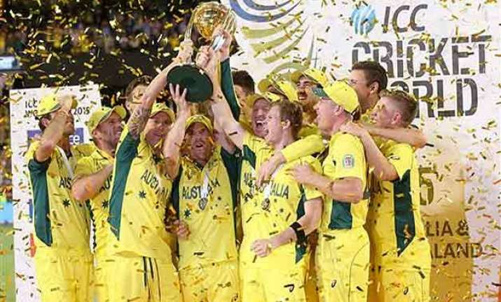 australia lift 5th world cup give fairytale sendoff to