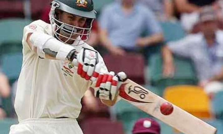 aussies take foot off the pedal against windies in gabba