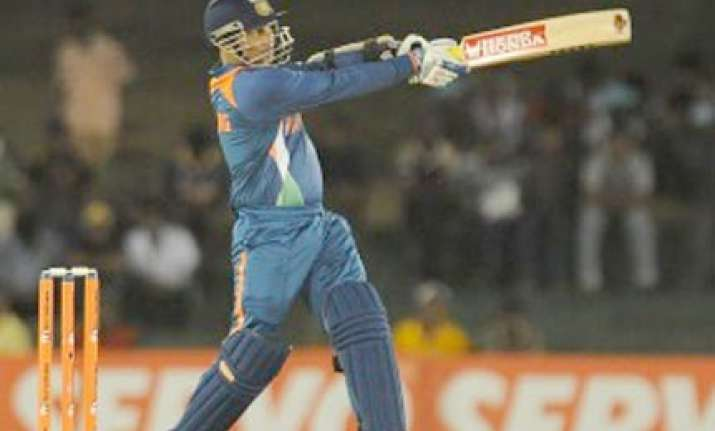 sehwag and bowlers shines in india s terrific win