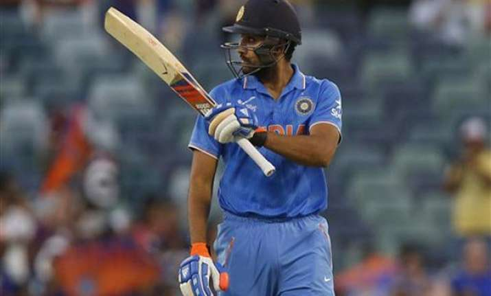 don t always judge rohit s form by runs scored dhoni