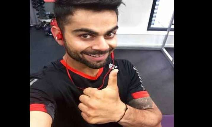 virat kohli the king of cricketers on tweeters with over 5