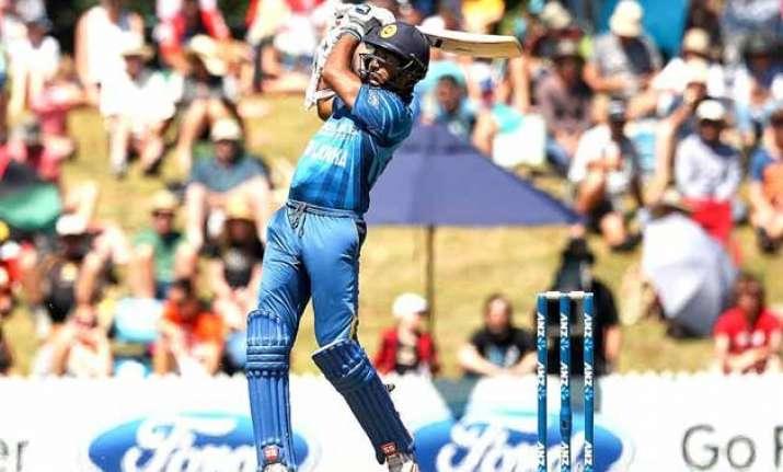 nz vs sl sri lanka wins toss bats in 4th odi vs new zealand