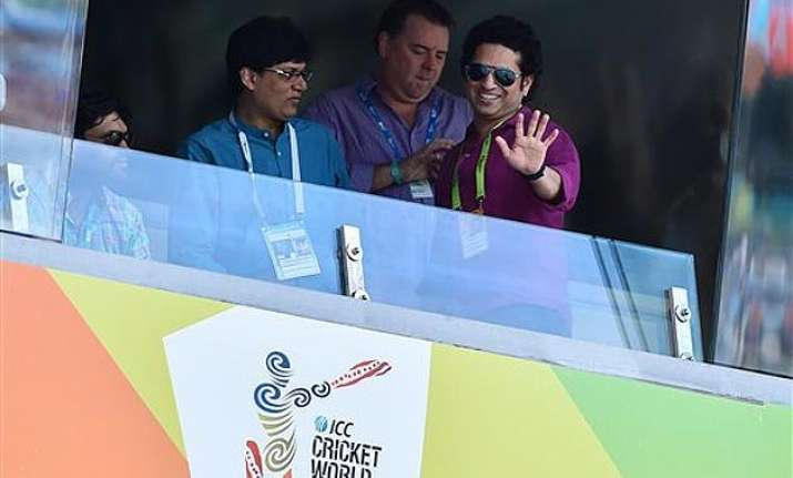 world cup 2015 i am happy but not satisfied says sachin