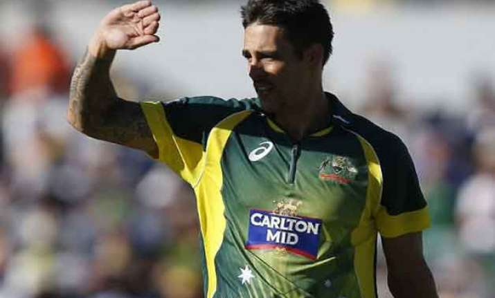 australia pacer mitchell johnson to play tri series final