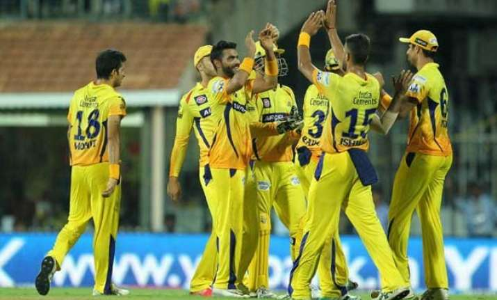 ipl 8 csk spin their way to thumping win over kings xi