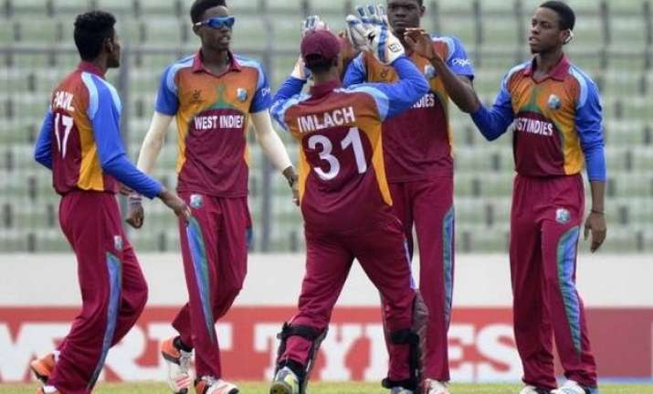 india lose under 19 world cup trophy to west indies