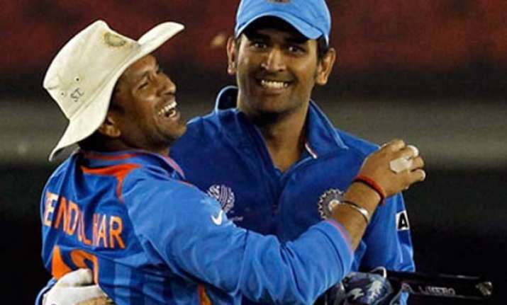 tendulkar dhoni to vie for greatest odi cricketer crown