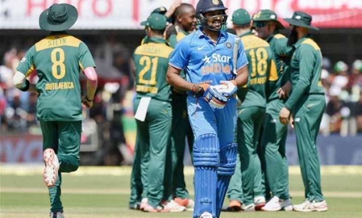 proteas ploy to get rohit sharma out in first 10 deliveries