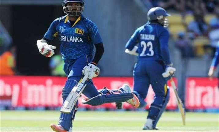 world cup 2015 sri lanka wins toss opts to bat vs scotland
