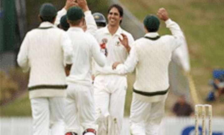 johnson leads australia to series win against kiwis