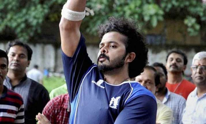 sreesanth starts net practice after getting clean chit by