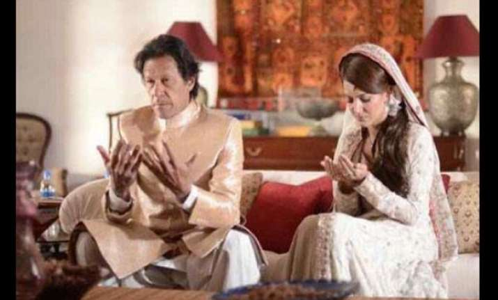 imran reham wedding images out watch pics